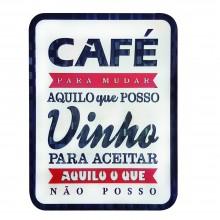 Quadro Café-Vinho - Marcel Haveroth