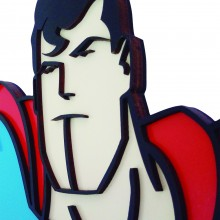 Quadro Superman - Marcel Haveroth